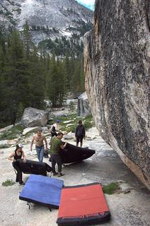 bouldermatte-crashpad