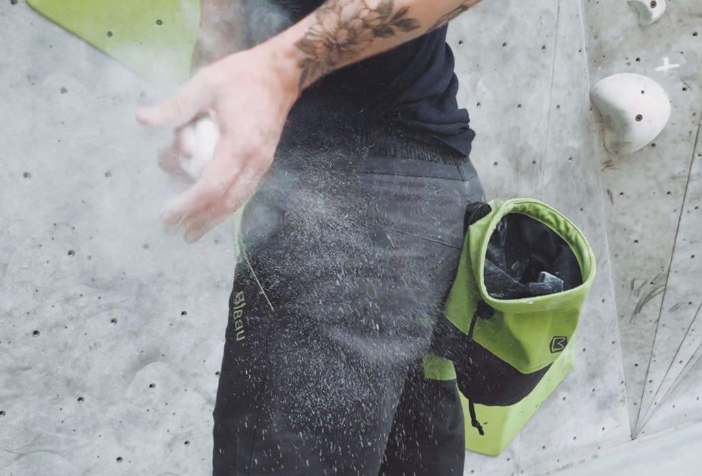 Bleau-Boulderwear Isatis Boulderhose chalk 2